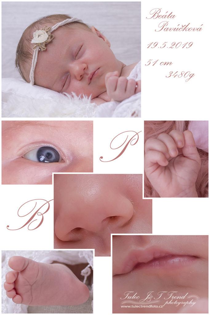 Newborn fotograf Prostějov