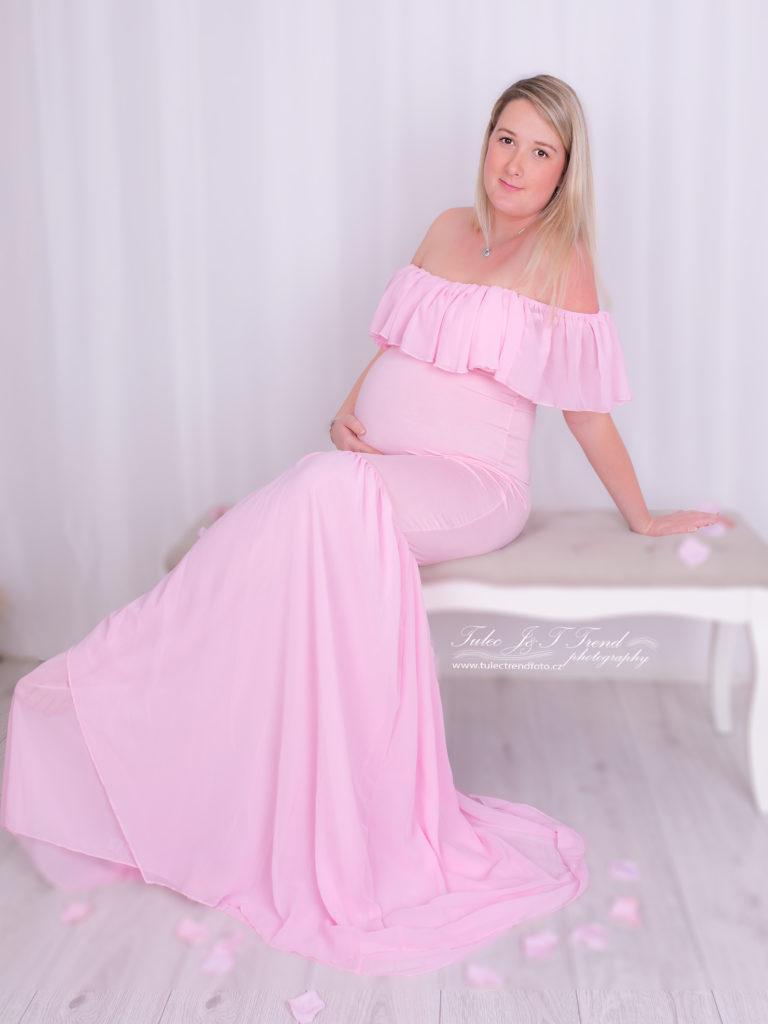 Těhotenská fotografie