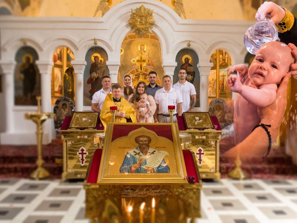 Focení křtin